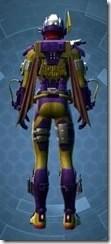 Commander Vizla Dyed Back