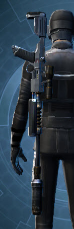 Defiant Technographer's Sniper Rifle Stowed