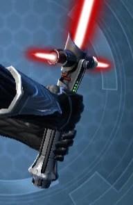 Defiant Vented Lightsaber Back