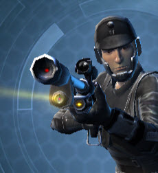 Indomitable Raider's Sniper Rifle Front