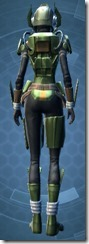 Vile Hunter - Female Back