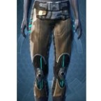 Lacquer Mesh Greaves [Force] (Pub)