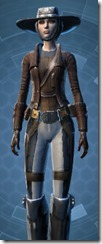 Outer Rim Gunslinger - Female Close