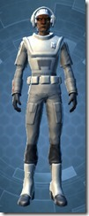 Unshakable Trooper - Male Front