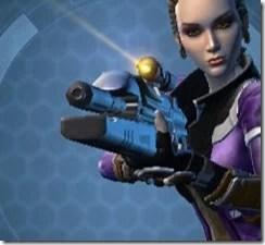 Eternal Champion's Blaster Rifle Front