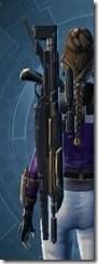 Eternal Champion's Blaster Rifle Stowed
