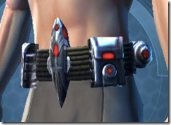 Crystalline Force-Lord's MK-3 Belt