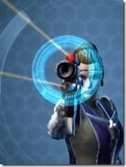 Righteous Harbinger's Blaster Front