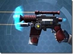 Righteous Harbinger's Blaster Left