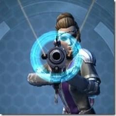 Rughteous Enforcer's Blaster Rifle Front