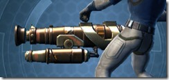 Commander's Assault Cannon MK-1 Left