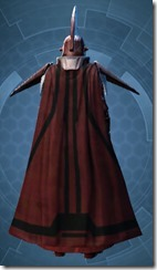Dark Praetorian - Male Back