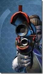 Eternal Commander MK-4 Blaster Pistol Front