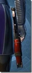 Eternal Commander MK-4 Blaster Pistol Stowed