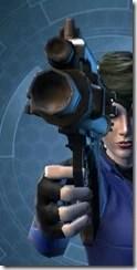 Ferrocarbon Onslaught Blaster Pistol Front