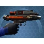 Ferrocarbon Onslaught Blaster Pistol*