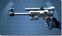 Hunter's Blaster Pistol MK-1 Left