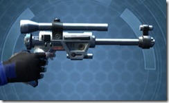Hunter's Blaster Pistol MK-1 Right
