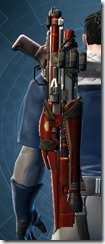 Sedrellium Asylum Blaster Rifle Stowed