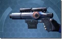 Mandalorian's Blaster Pistol MK-1 Left