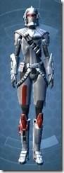 Warstorm Veteran - Female Front