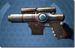 Mandalorian's Blaster Pistol MK-2 Left