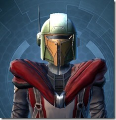 Mandalorian Tracker Hides Hood