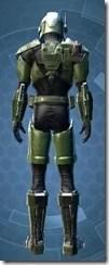 Mandalorian Tracker - Male Back
