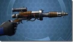 Privateer's Blaster Pistol MK-2 Side