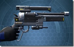 Zakuulan's Blaster Pistol MK-1 Right