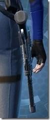 Zakuulan's Blaster Pistol MK-1 Stowed