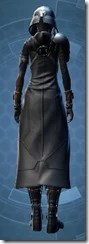 Distinguished Warden - Female Back