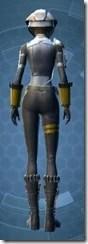 Combat Engineer - Female Back