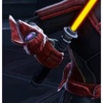 Commanding Mainhand Lightsaber / Offhand Lightaber
