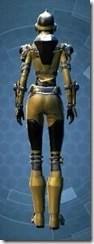 Bionic Warrior - Female Back