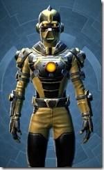 Bionic Warrior - Male Close