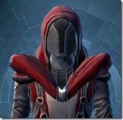 Calculated Mercenary Doersn't Hide Hood