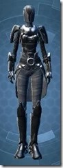 Calculated Mercenary - Female Front