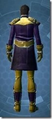 Enigmatic Operative Dyed Back