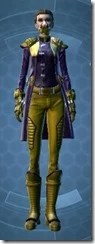 Enigmatic Operative Dyed Front