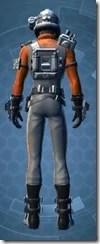 Battlefield Technician - Male Rear
