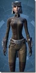 Guerrilla Tactician - Female Close