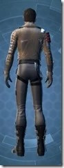 Corellian Pilot - Male Rear