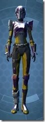 Charismatic Mandalorian Dyed Front