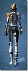 Charismatic Mandalorian Female Rear