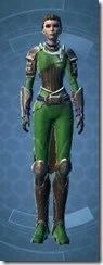 Distinguished Warrior Dyed Front