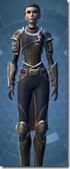 Distinguished Warrior Female Close