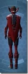 Crimson Talon Female Rear