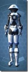 Elite Gunner Female Rear