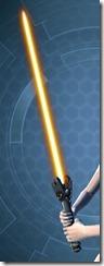 Masterwork Ancient Force-Master's Lightsaber Full